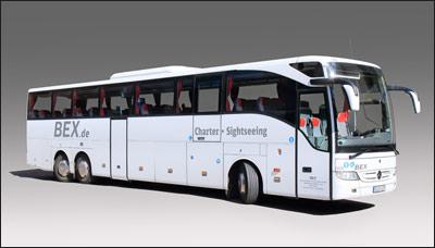 Mercedes Tourismo RHD-L barrierefrei ausgestattet mit Rollstuhllift